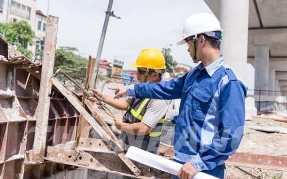 tim hieu nhiem vu va muc luong cua ky su hien truong hien nay - Công trình thiết kế biệt thự hiện đại Đà Nẵng với diện tích 250m2