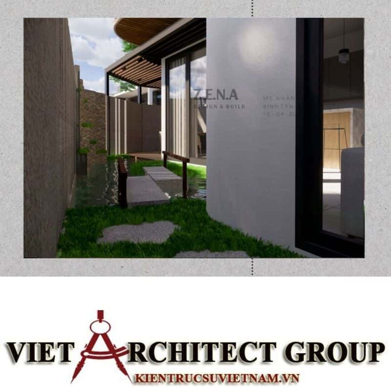 10 1 - Công trình thiết kế và thi công nhà lô góc phố 2 mặt tiền Mr Nhân - Tân Phú