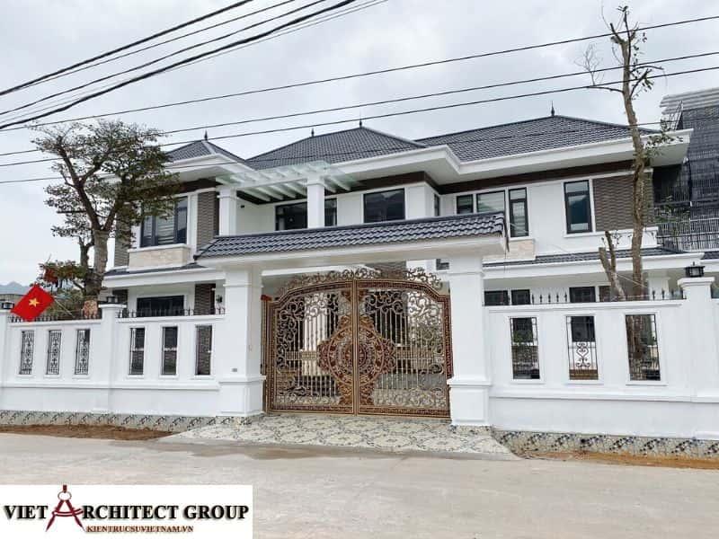 10 - Công trình biệt thự lô góc phố 2 mặt tiền Mr Lâm - Mỹ Hào, Hưng Yên