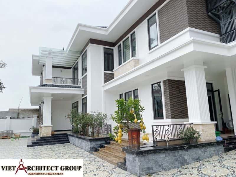 11 - Công trình biệt thự lô góc phố 2 mặt tiền Mr Lâm - Mỹ Hào, Hưng Yên