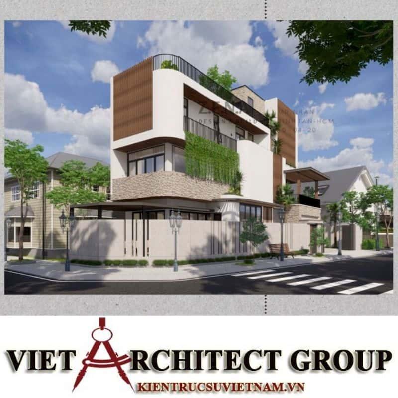 2 2 - Công trình thiết kế và thi công nhà lô góc phố 2 mặt tiền Mr Nhân - Tân Phú