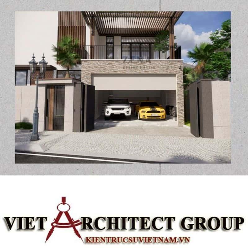 6 1 - Công trình thiết kế và thi công nhà lô góc phố 2 mặt tiền Mr Nhân - Tân Phú