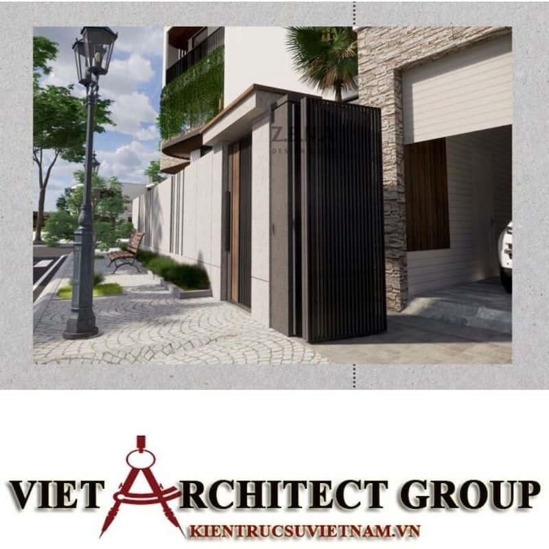 7 1 - Công trình thiết kế và thi công nhà lô góc phố 2 mặt tiền Mr Nhân - Tân Phú