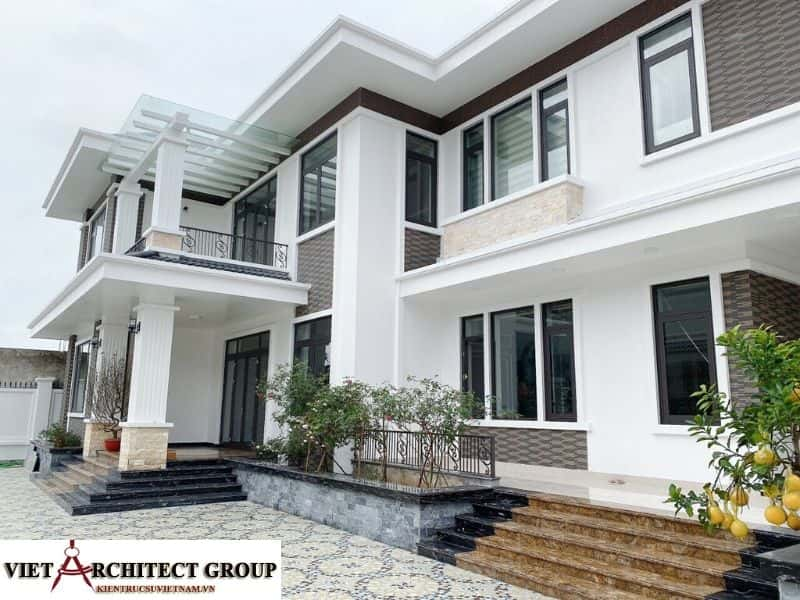 9 - Công trình biệt thự lô góc phố 2 mặt tiền Mr Lâm - Mỹ Hào, Hưng Yên