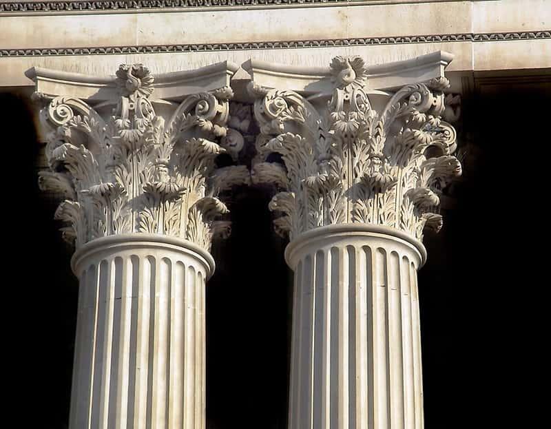 Cac thuc cot co dien dep thuc cot corinth - Phong cách kiến trúc tân cổ điển