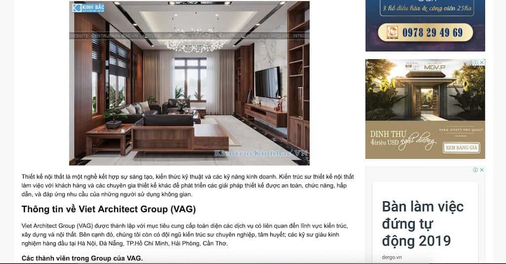 Screen Shot 2020 04 20 at 21.15.55 - Báo Người Đưa Tin: Công ty thiết kế nội thất uy tín chuyên nghiệp
