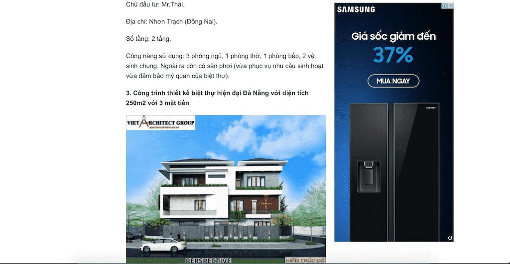 Screen Shot 2020 04 20 at 21.22.33 - Báo Gia Đình Pháp Luật: Công ty thiết kế biệt thự uy tín chuyên nghiệp