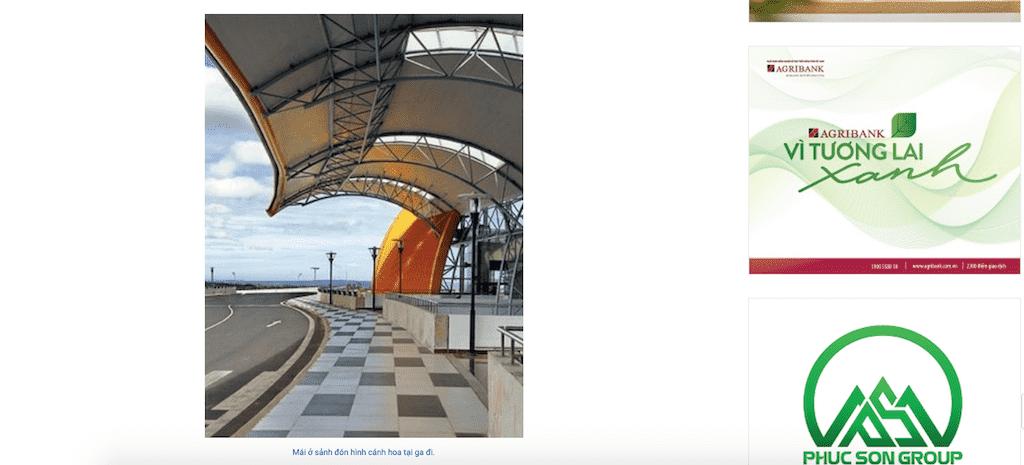 Screen Shot 2020 04 22 at 05.35.28 e1587508729790 - Báo Xây Dựng: Công trình nhà ga hành khách cảng hàng không Liên Khương