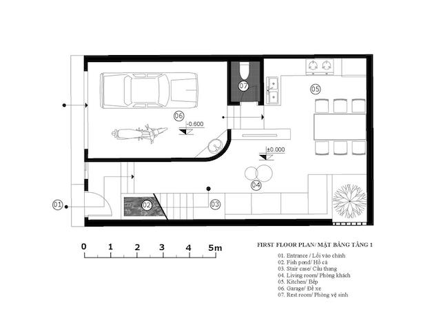 nha dep Floor plan 1