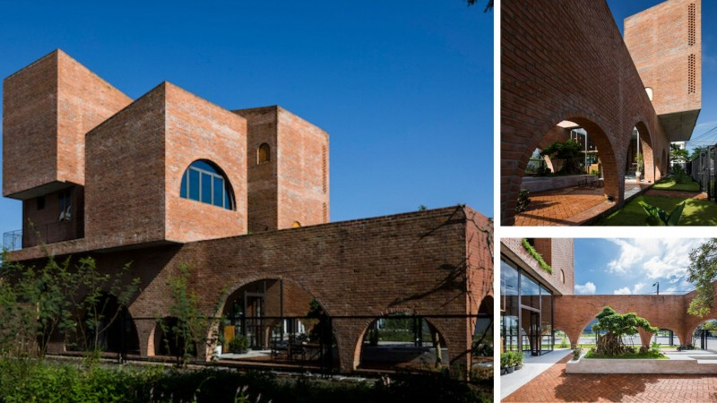 Nhà Cuckoo - Ngôi nhà mộc thiết kế dành cho 4 người (bố mẹ và 2 con) kết hợp với quán cà phê ở Đà Nẵng