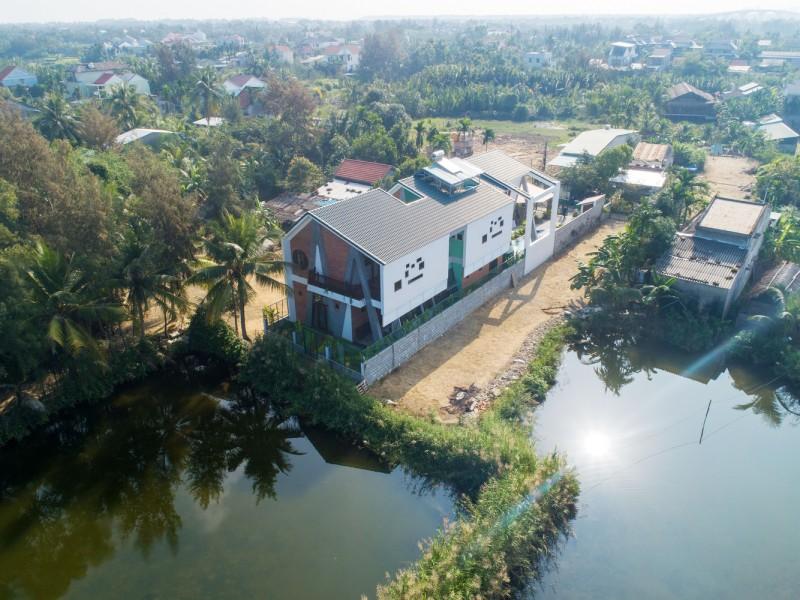 kien truc nha dep AA 1 - Ngôi nhà có kiến trúc độ đáo tọa lạc tại Cẩm Thành - Hội An