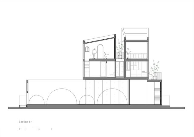 nha dep 3  - Ngôi nhà mộc thiết kế dành cho 4 người (bố mẹ và 2 con) kết hợp với quán cà phê ở Đà Nẵng