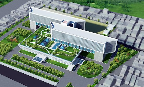 thiet ke benh vien V3 - Công trình tư vấn - thiết kế Bệnh viện ung bướu 2