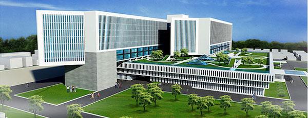 thiet ke benh vien ung buou phoi canh 3 - Công trình tư vấn - thiết kế Bệnh viện ung bướu 2