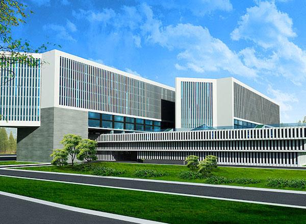 thiet ke benh vien ung buou phoi canh 4 - Công trình tư vấn - thiết kế Bệnh viện ung bướu 2