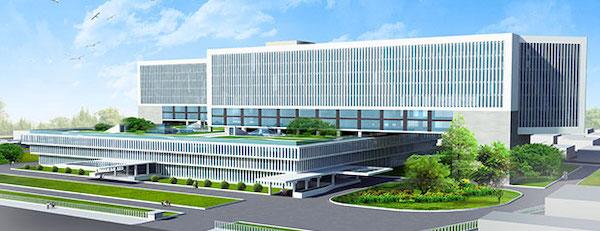 thiet ke benh vien ung buou phoi canh 7 - Công trình tư vấn - thiết kế Bệnh viện ung bướu 2