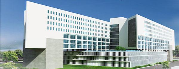 thiet ke benh vien ung buou phoi canh - Công trình tư vấn - thiết kế Bệnh viện ung bướu 2