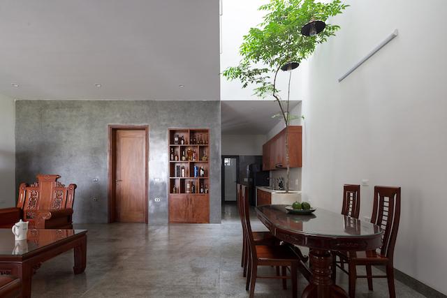 thiet ke nha dep HHouse photos 06 - Ngôi nhà phố nhỏ hẹp giải quyết triệt để vấn đề giải quyết các vấn đề thông gió, ánh sáng tự nhiên