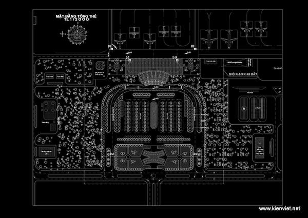 thiet ke nha ga hang khong lien khuong07 mbtt - Thiết kế Nhà ga hàng không Liên Khương - Lâm Đồng