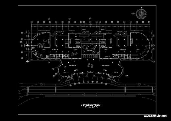 thiet ke nha ga hang khong lien khuong09 mb tang 1 - Thiết kế Nhà ga hàng không Liên Khương - Lâm Đồng
