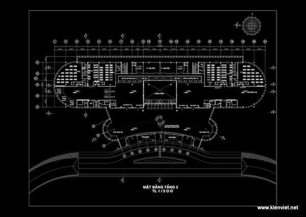 thiet ke nha ga hang khong lien khuong10 mb tang 2 - Thiết kế Nhà ga hàng không Liên Khương - Lâm Đồng