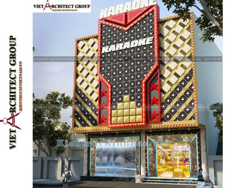 thiet ke nha hang quan karaoke 1 - Thiết kế thi công nhà hàng karaoke Vĩnh Phúc
