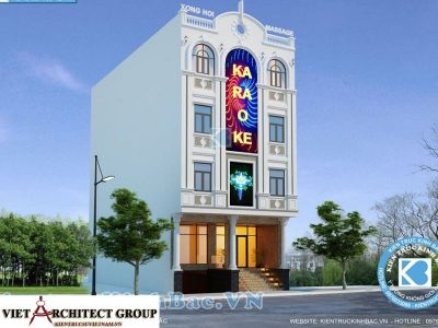 thiet ke nha hang quan karaoke 11 400x300 - Thiết kế thi công nhà hàng karaoke anh Quang Hà