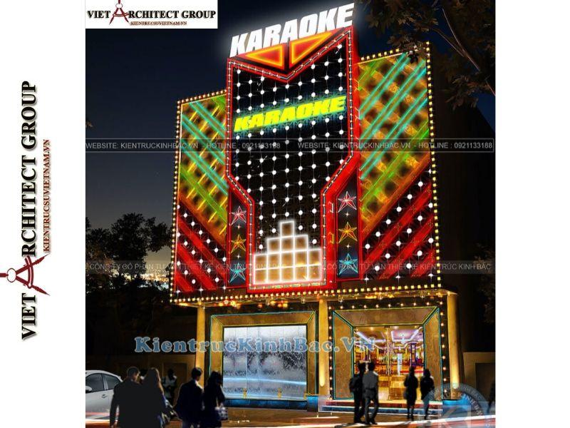 thiet ke nha hang quan karaoke 2 - Thiết kế thi công nhà hàng karaoke Vĩnh Phúc