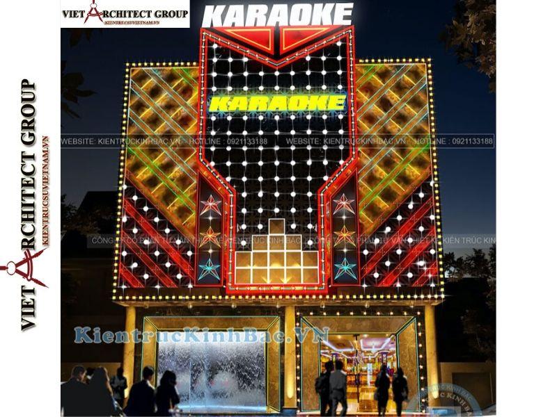 thiet ke nha hang quan karaoke 3 - Thiết kế thi công nhà hàng karaoke Vĩnh Phúc