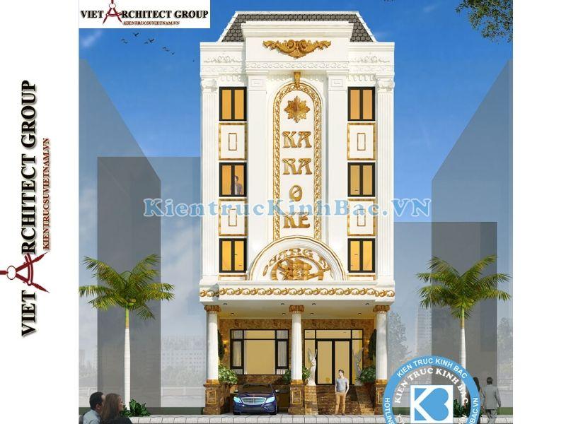 thiet ke nha hang quan karaoke 7 - Thiết kế và thi công nhà hàng quán Karaoke anh Chung-Bắc Giang