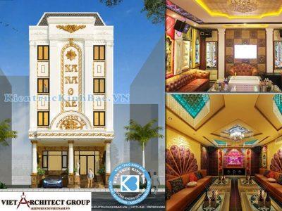 thiet ke nha hang quan karaoke 9 400x300 - Thiết kế và thi công nhà hàng quán Karaoke anh Chung-Bắc Giang