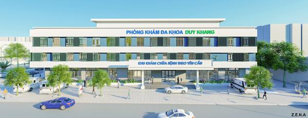 thiet ke phong kham da khoa duy quang 2 - Thiết kế Phòng Khám Đa Khoa Duy Khang - Chợ Gạo, Tiền Giang