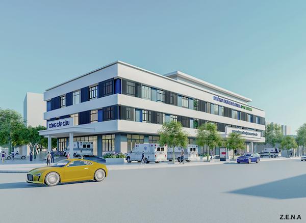 thiet ke phong kham da khoa duy quang 3 - Thiết kế Phòng Khám Đa Khoa Duy Khang - Chợ Gạo, Tiền Giang