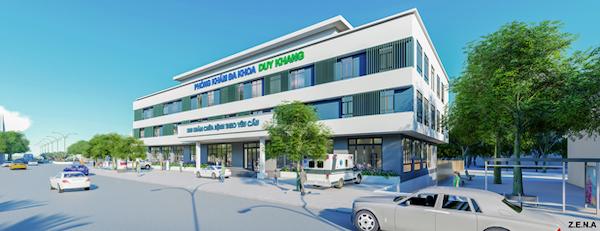 thiet ke phong kham da khoa duy quang 5 - Thiết kế Phòng Khám Đa Khoa Duy Khang - Chợ Gạo, Tiền Giang