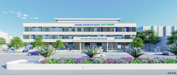 thiet ke phong kham da khoa duy quang slide - Thiết kế Phòng Khám Đa Khoa Duy Khang - Chợ Gạo, Tiền Giang