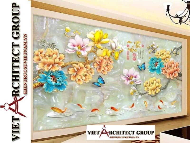tranh kinh 3D ms0017 - Thiết kế và thi công tranh kính 3d đẹp đẳng cấp