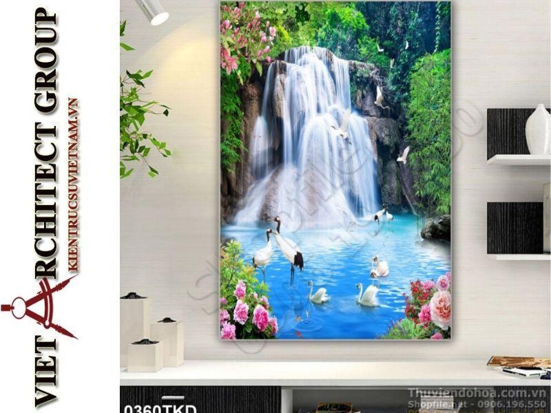 tranh kinh 3D ms0019 - Thiết kế và thi công tranh kính 3d đẹp đẳng cấp