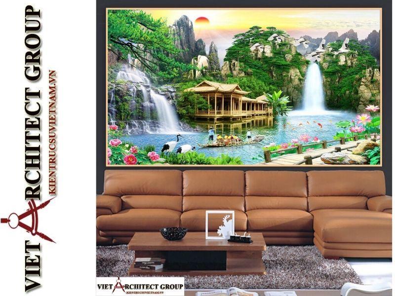 tranh kinh 3D ms002 - Thiết kế và thi công tranh kính 3d đẹp đẳng cấp
