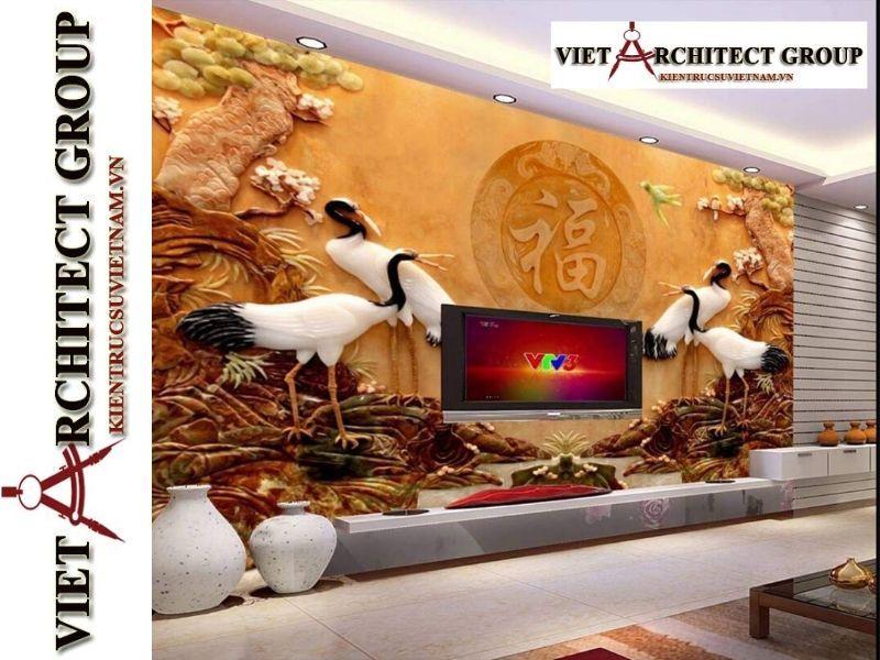 tranh kinh 3D ms0021 - Thiết kế và thi công tranh kính 3d đẹp đẳng cấp