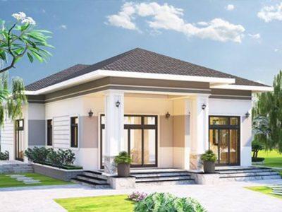 nha cap 4 dep 8 400x300 - Dự toán và tính chi phí xây nhà cấp 4 đẹp hiện đại giá cực rẻ