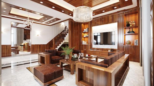 sofa go biet thu dep dang cap - Bộ bàn ghế sofa gỗ đẹp hiện đại sang trọng đẳng cấp