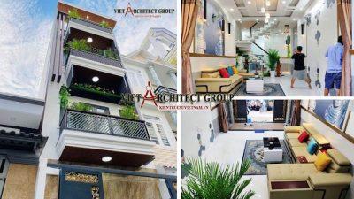 thiet ke nha dep 1 400x225 - Thiết kế thi công trọn gói nhà phố 3.5 tầng mặt tiền đẹp diện tích 4 m x 13 m