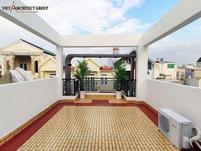 thiet ke nha dep 5 1 - Thiết kế thi công trọn gói nhà phố 3.5 tầng mặt tiền đẹp diện tích 4 m x 13 m