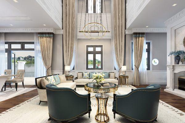 thiet ke noi that biet thu vinhomes - Thiết kế nội thất biệt thự Vinhomes