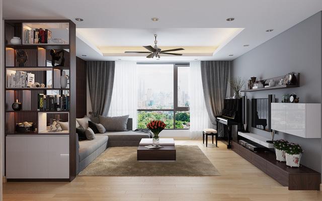 thiet ke noi that chung cu tai ha noi - Thiết kế nội thất chung cư tại Hà Nội