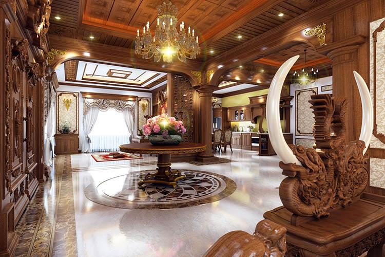 thiet ke noi that lau dai 5 - Thiết kế nội thất lâu đài
