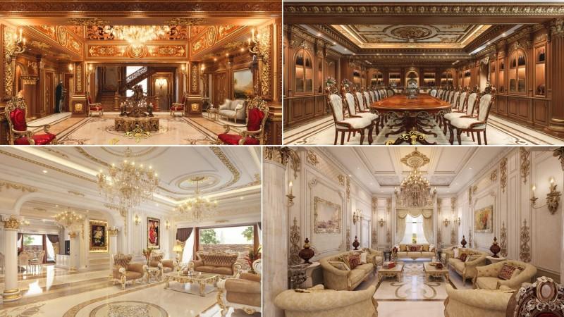 thiet ke noi that lau dai - Thiết kế nội thất lâu đài
