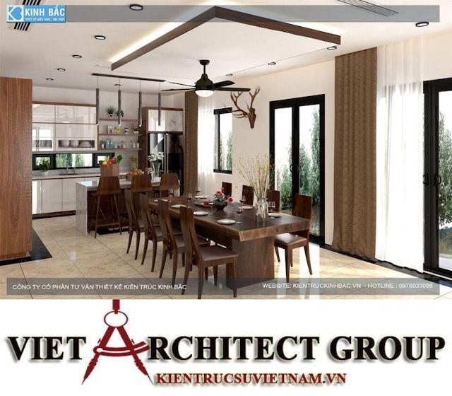 thiet ke phong an biet thu gamura 5 - Thiết kế nội thất biệt thự Gamuda Gardens gia đình Mr Lâm