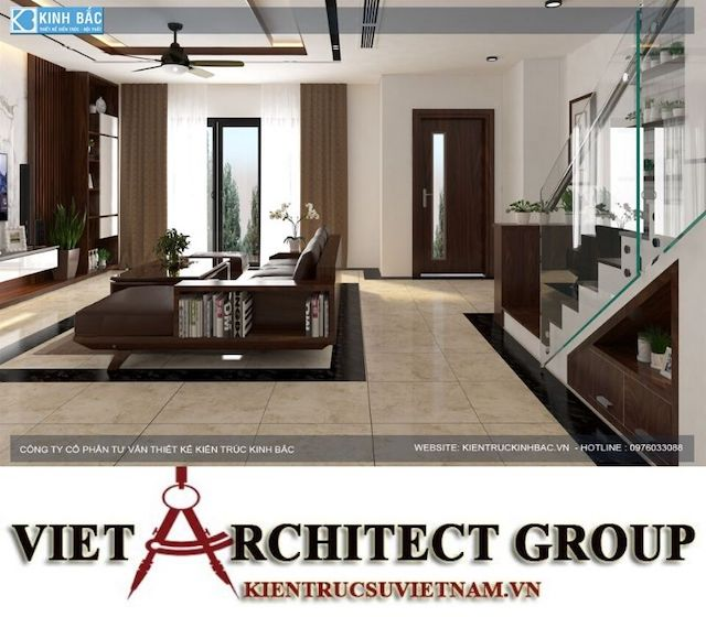 thiet ke phong khach biet thu gamura 15 - Thiết kế nội thất biệt thự Gamuda Gardens gia đình Mr Lâm