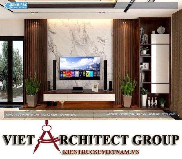 thiet ke phong khach biet thu gamura 17 - Thiết kế nội thất biệt thự Gamuda Gardens gia đình Mr Lâm